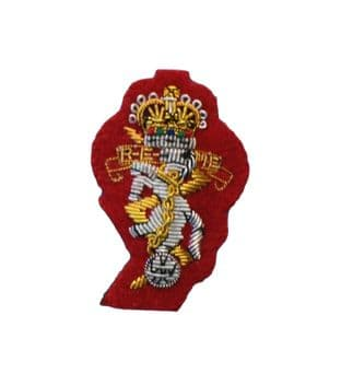 REME Royal Electrical Mechanical Engineers Officers Beret Badge On Red